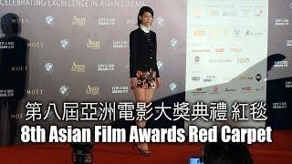 8th Asian Film Awards Red Carpet  第八屆亞洲電影大獎典禮 紅毯 2014