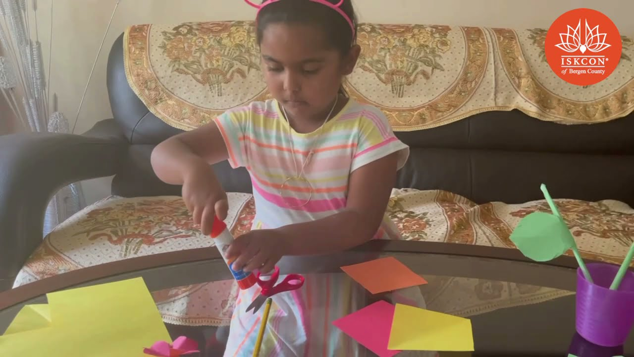 How To Make A Paper Flower - Sunday School - By Myra