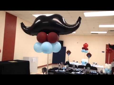Mustache Baby Shower Youtube