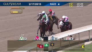 Gulfstream Park Replay Show | February 17, 2019