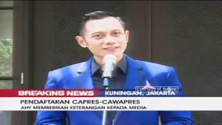 Partai Demokrat Resmi Dukung Prabowo-Sandiaga di Pilpres 2019