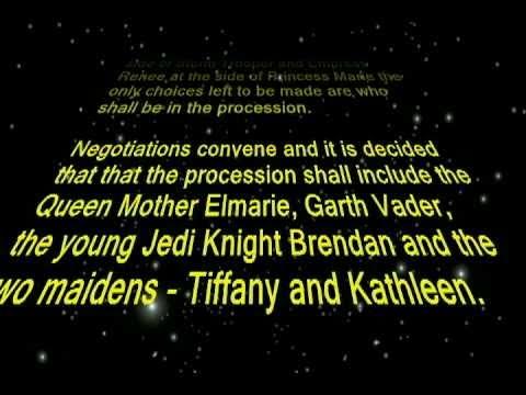 Star Wars Wedding Video
