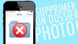 Supprimer un album Photo sur iPhone/iPad/iPod Touch !