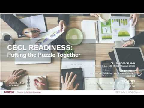 CECL Readiness: Putting the Puzzle Together