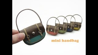 DIY Miniature Doll Mini Handbag Tote Bag