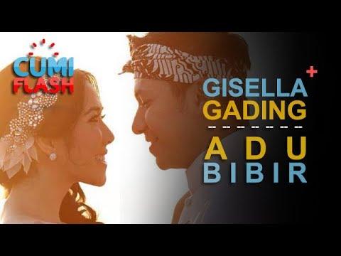 Di Dalam Kolam Renang, Giselle Asik Ngadu Bibir Sama Gading - CumiFlash 17 Agustus 2017