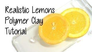 DIY Lemon Clay Phone Case Tutorial