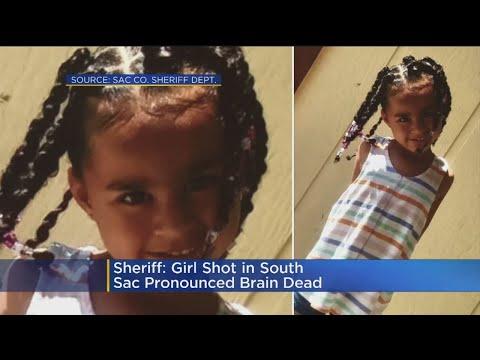 Girl Shot In South Sacramento Pronounced Brain Dead
