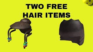 Roblox - ZWEI KOSTENLOSE NEUE HAIR ITEMS
