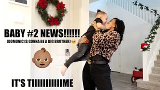 BABY #2 NEWS!!!!!!!!!!!!!!! *SURPRISE*