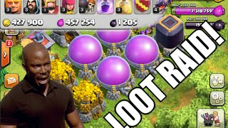 """Clash of Clans - LOOT MONTAGE! \ FUNNY """"300k LOOT IN 1 RAID!"""""""