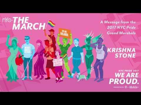 NYC Pride's 2017 Grand Marshals