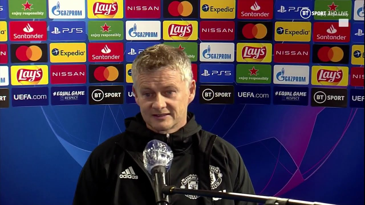 the first goal was unforgivable solskjaer reacts after man utd lose to istanbul basaksehir youtube the first goal was unforgivable solskjaer reacts after man utd lose to istanbul basaksehir