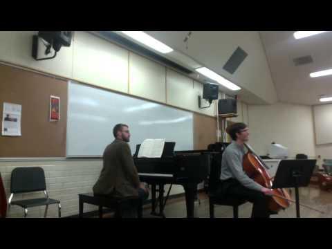 Masterclass: Schumann Cello Concerto