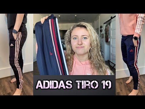 Women's Adidas Tiro 19 Training Pants Haul: Review & Try On