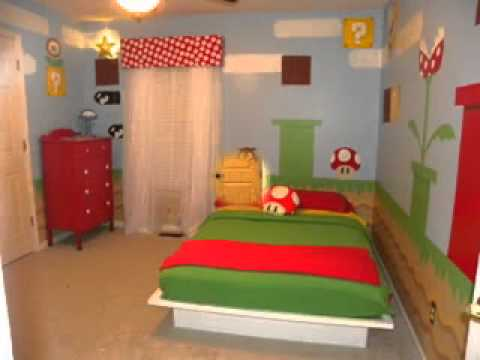 super mario bedroom ideas
