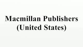 Macmillan Publishers (United States)
