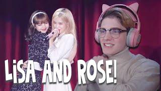 BLACKPINK 'Lisa & Rosé L-O-V-E REACTION!! (#chaelisa)