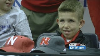 Huskers to honor boy battling terminal illness