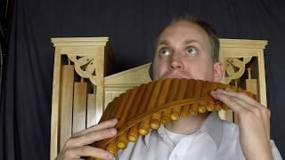 Tchaikovsky june - barcarolle (g minor) interpreted by sean koreski pan flute master on his and self playing pipe organ which he built himself. jun...
