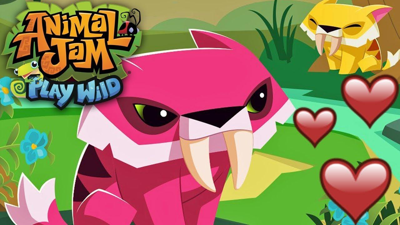 New Pet Sabertooth! | Animal Jam Play Wild - YouTube