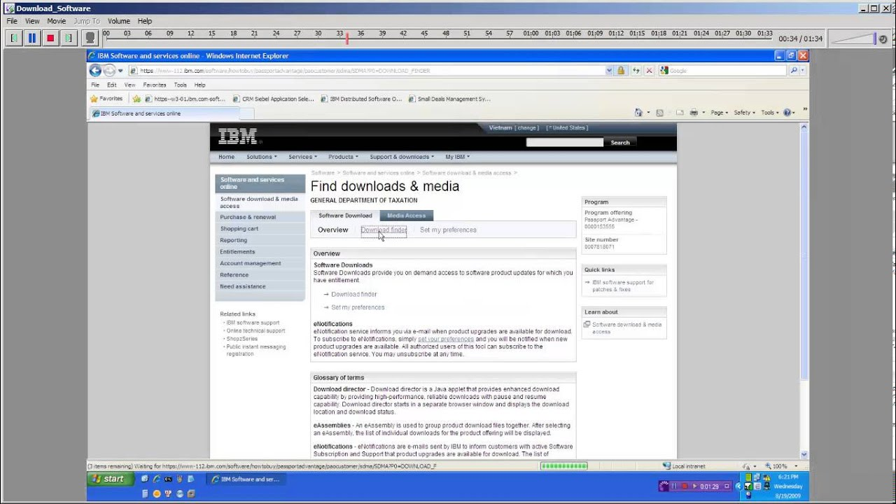 IBM MQ Download for Customer