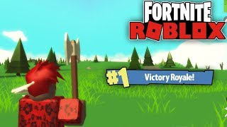 ROBLOX FORTNITE - EASY WINS BOIS | w/Prevail Aka My Cousin