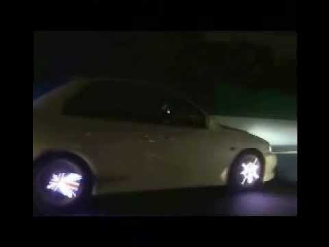 LED car wheel images graphics programmable