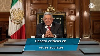 Este martes el presidente Andrés Manuel López Obrador participó de forma virtual en la Asamblea General de ONU