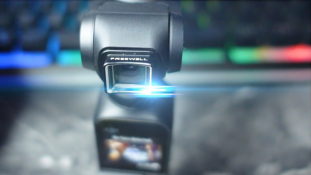 Freewell Anamorphic Lens for the Osmo Pocket