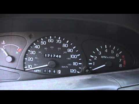 Ford escort zx2 speedometer drive