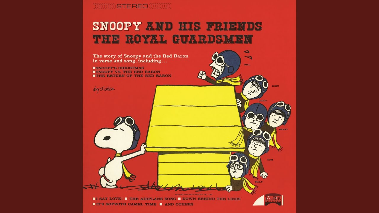 snoopys christmas the royal guardsmen