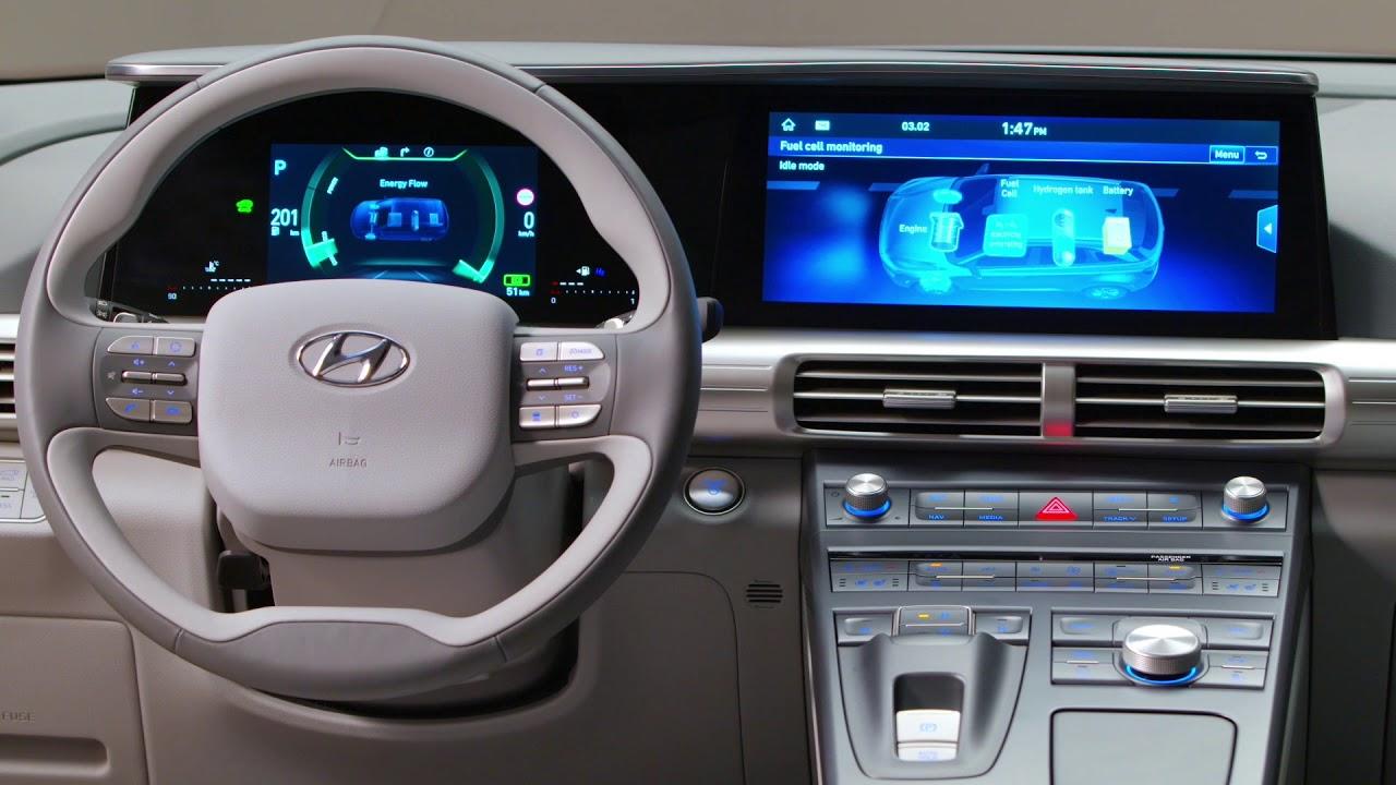 The All New Hyundai Nexo Interior Design Youtube