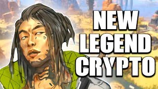 APEX LEGENDS NEW CHARACTER LEAKS! MEET CRYPTO!