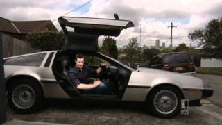 De-lorean Owner Matthew Reilly Sci-Fi Author & Collector