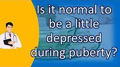 hqdefault - Depression During Puberty Normal