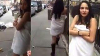 Habla la mujer que Dominicano celoso obligó a caminar desnuda por una calle de NY