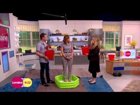 [HD] Kate Garraway's Ice Bucket Challenge