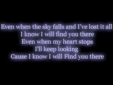 Find You There -  We The Kings Lyrics