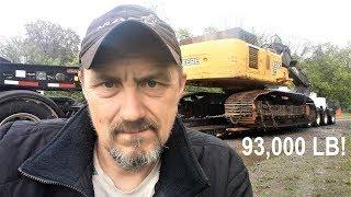 Heavy Haul TV: Episode #537 -- 93,000 LB John Deere 450C Excavator