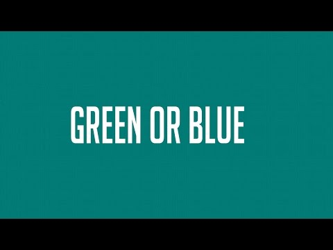 IS THIS COLOUR BLUE OR GREEN?!? COLOUR BLIND TEST (ONLY 2% GET THIS RIGHT)