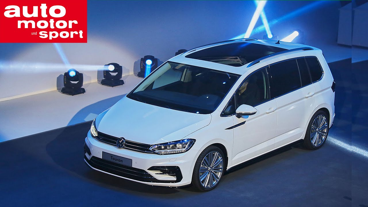 vw touran in genf 2015 youtube. Black Bedroom Furniture Sets. Home Design Ideas