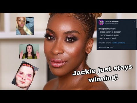 Drama Channels Harassing Jackie Aina | Why I Stopped Being a Drama Channel thumbnail