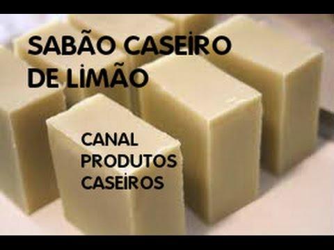 Sabão Barra De Limão Maravilhoso Youtube