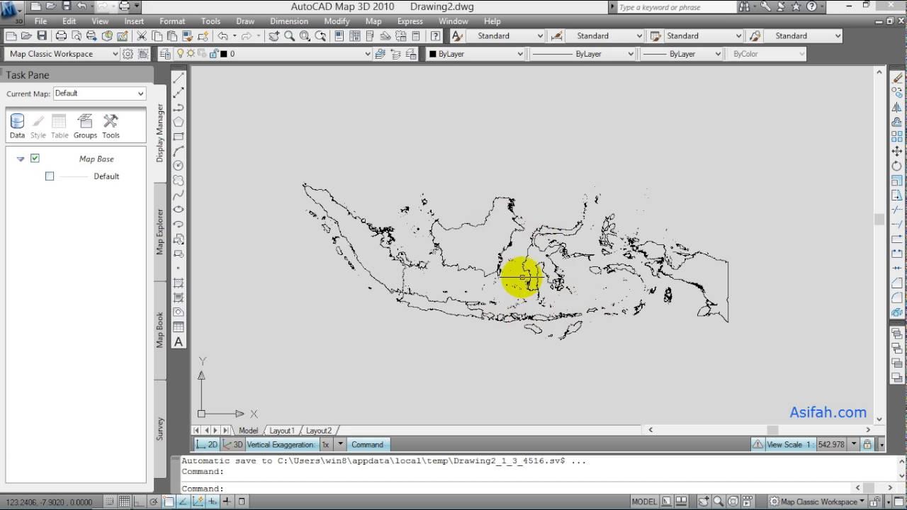 Cara Memperbesar Peta Atau Memperkecil Gambar Di AutoCAD ...