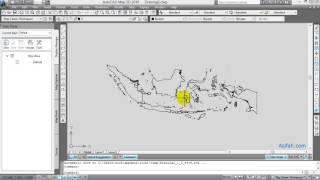 Cara Memperbesar Peta Atau Memperkecil Gambar Di AutoCAD