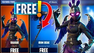 """RAVAGE Skin"" TO SUBS - FORTNITE ITEM SHOP UPDATE PS4 PRO (FORTNITE BATTLE ROYALE)"