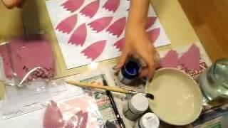 Как сделать хризантему из ткани. Урок №1 - Цветы из ткани