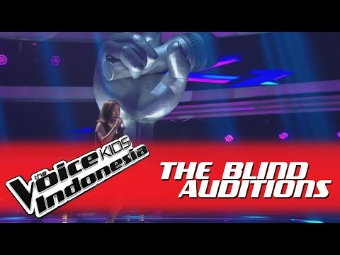 "Abigail ""Masterpiece"" I The Blind Auditions I The Voice Kids Indonesia GlobalTV 2016"