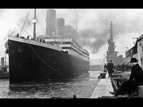 RMS Titanic and survivors - 1912 original video